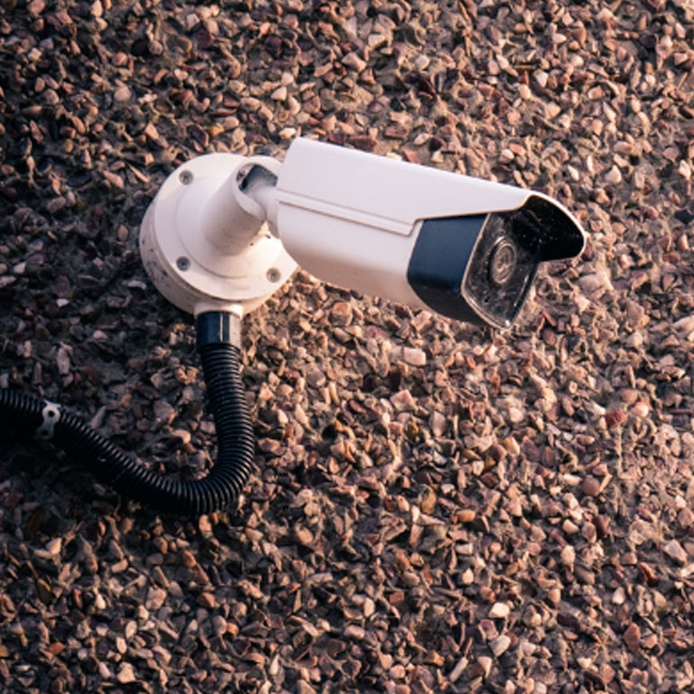 Photo of security camera